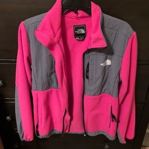 The North Face Jacket (Pink & Grey)